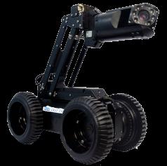 DeepTrekker Pipe Crawler with Elevated Camera