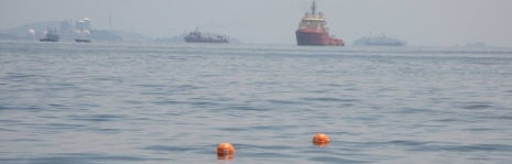 iSPHERE oil spill tracking buoys
