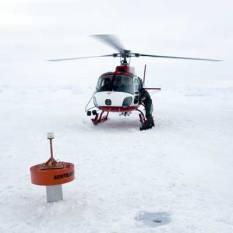 Deployed Ice Beacon