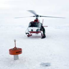 Deployed Ice Beacon