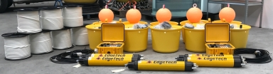 Acoustic releases and pop up buoys